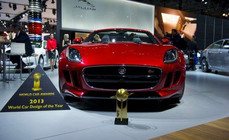 Jaguar F-TYPE Declared 2013 World Car Design of the Year