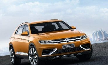 VW's CrossBlue Coupe Concept - The German Evoque ?