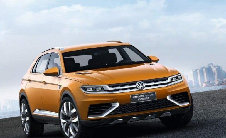 VW's CrossBlue Coupe Concept – The German Evoque ?
