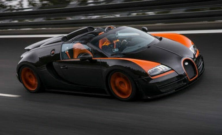 EVO joins Bugatti for the Grand Sport Vitesse World Record Run
