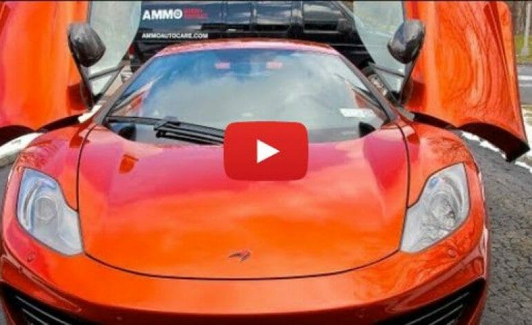 McLaren MP4-12C: New Car Detailing Tips