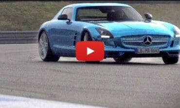 Chris Harris on Cars: Mercedes SLS Electric Drive