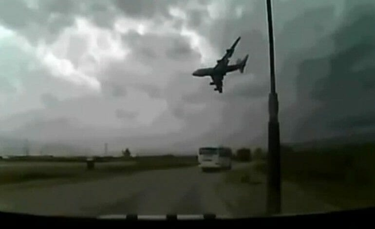 Dash Cam Records Shocking Plane Crash (Graphic Warning)