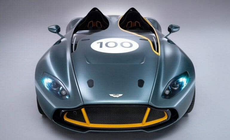 Aston Martin's CC100 Speedster Concept