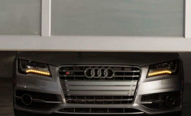 Audi targets Mercedes and set phasers to kill and in their new TV spot