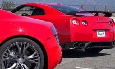 2014 Nissan GT-R vs 2014 Audi R8 V-10 Plus Head 2 Head