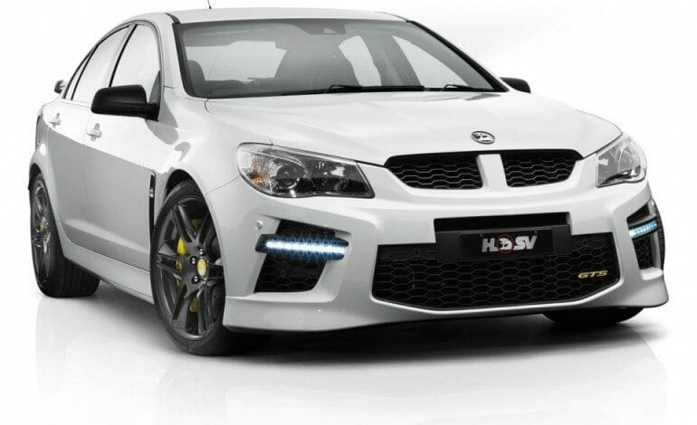 HSV moves out the Gen-F GTS, saying its now time to move over FPV…..
