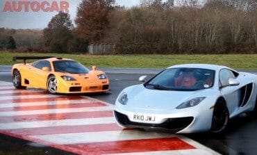 AutoCar takes the McLaren F1and MP4-12C to the track