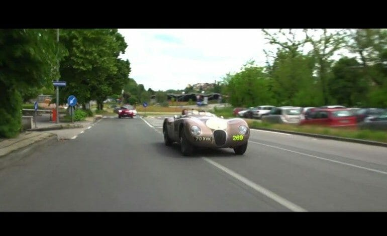 Jaguar at the Mille Miglia 2013