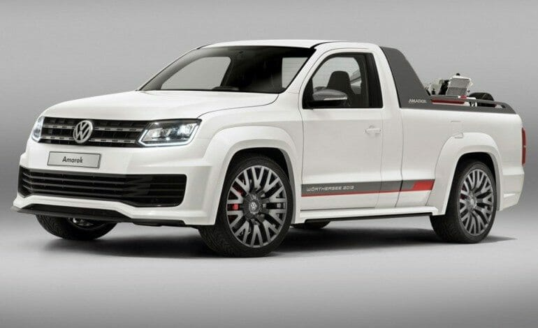 VW's Amarok concept suggests they want in on the performance ute club.