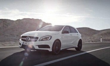 Mercedes-Benz Hot Hatch is almost here, The A 45 AMG