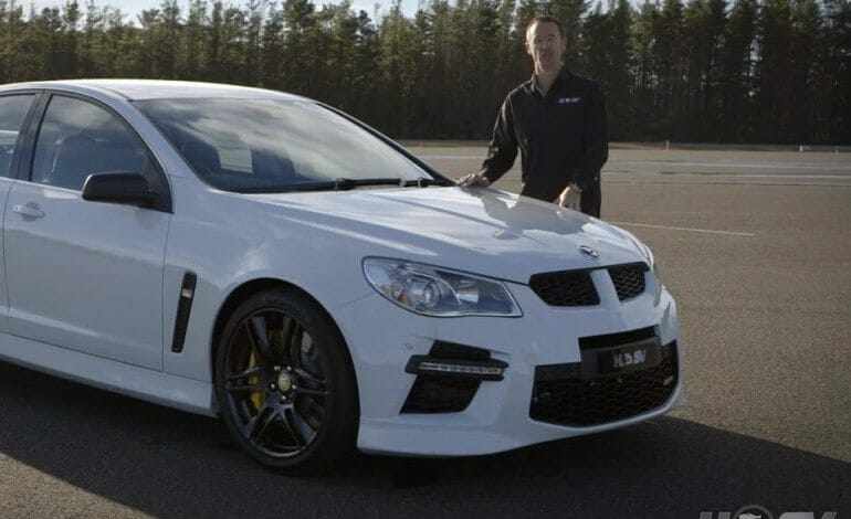 Greg Murphy give's us an Overview of the new HSV GEN-F GTS