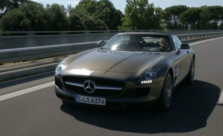 Mercedes-Benz SLS Runs the Mille Miglia! - Epic Drives