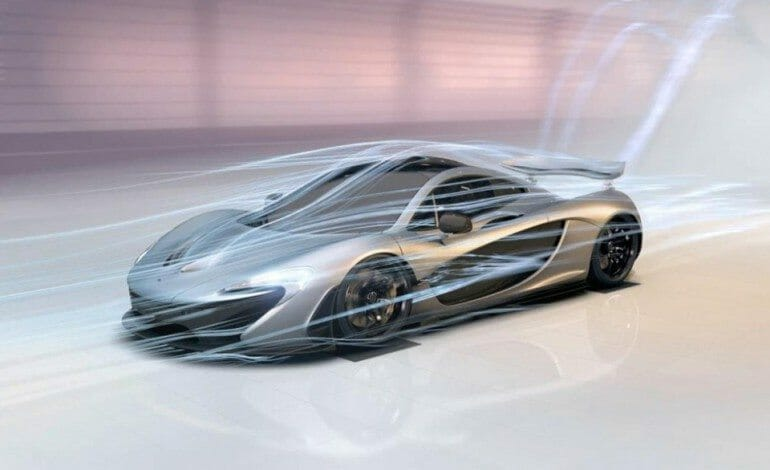 Mclaren P1 – Designed by air interactive experience
