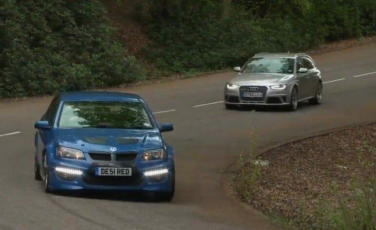 Vauxhall VXR8 Tourer vs Audi RS4 Avant – AutoCar