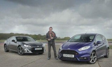 Ford Fiesta ST vs Toyota GT86 evo Track Battle