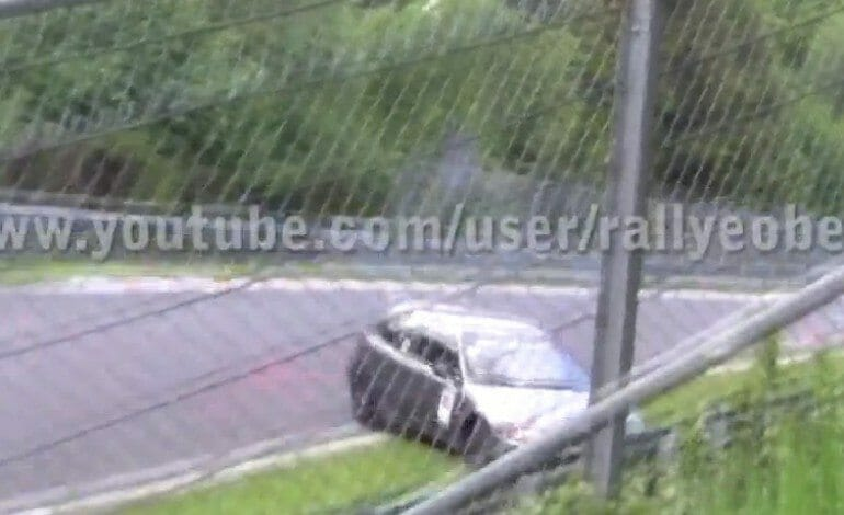 Honda Civic's Massive Crash on Nordschleife Nürburgring