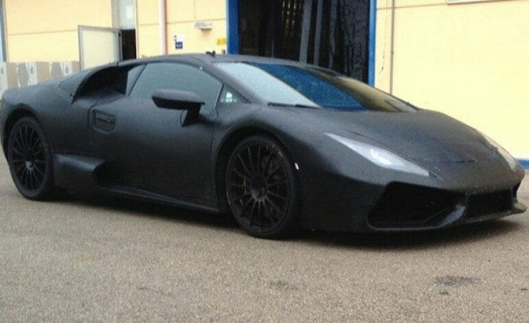 Could this be Lamborghini's replacement for the current Gallardo……?