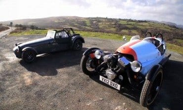 Chris Harris tests the Morgan Three Wheeler and Caterham Seven to see what all the fuss is about