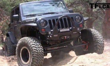 A Rock Devouring SRT 6.4L HEMI Jeep Wrangler !!!!
