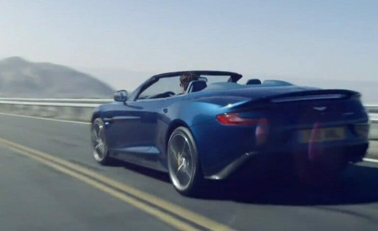 The Aston Martin Vanquish Volante is here