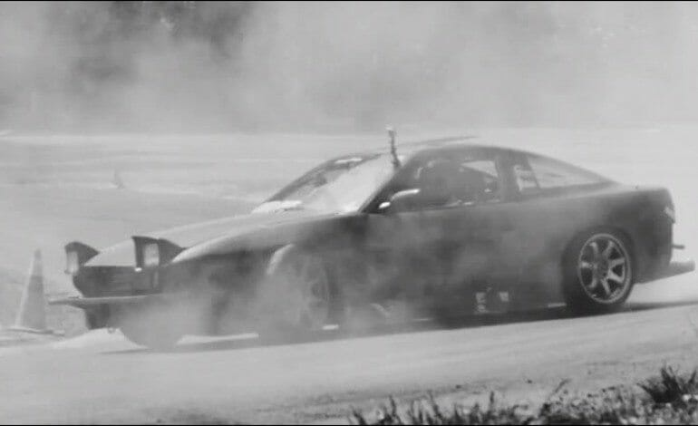 Just sit back relax and watch the tyres burn