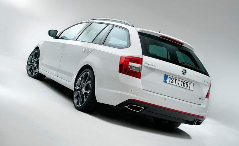 ŠKODA Announces the new Octavia RS