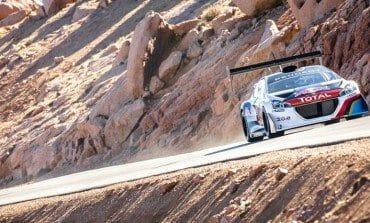 Peugeot Pikes Peak practice!