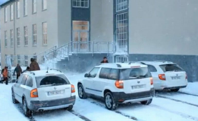 ŠKODA's 4WD TV Spot – Snow