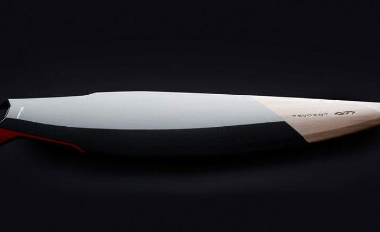 Peugeot Design Lab displays GTi surfboard concept