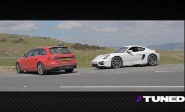 415hp Audi S4 Wagon vs 275hp Porsche Cayman, Matt Farah and Chris Harris Find Out Which is More Fun - TUNED