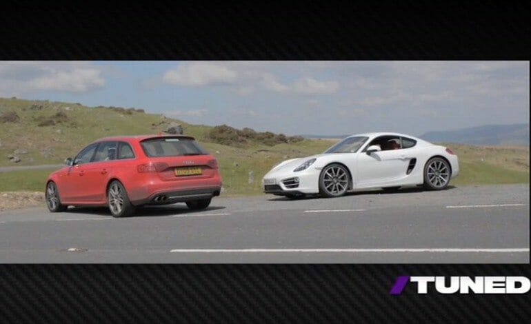 415hp Audi S4 Wagon vs 275hp Porsche Cayman, Matt Farah and Chris Harris Find Out Which is More Fun – TUNED