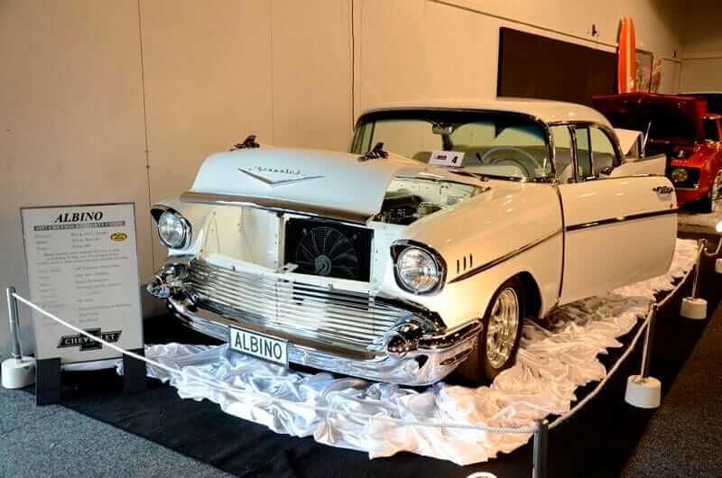 1957 Chevrolet Bel Air  at the 2013 Castrol EDGE - Teng Tools Custom & Classic Show by Matthew Hansen1