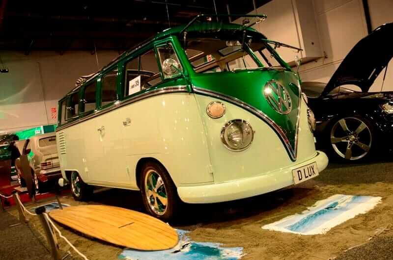 1963 VW Kombi  at the 2013 Castrol EDGE - Teng Tools Custom & Classic Show by Matthew Hansen1