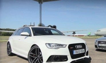 EVO Put Audi's RS6 into a drag test against a GTR