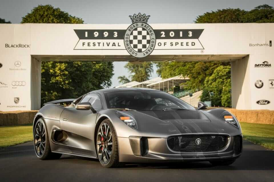 Jag c x75 Goodwood FOS