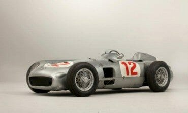 A 1954 Mercedes-Benz race car goes for $30 million at Auction