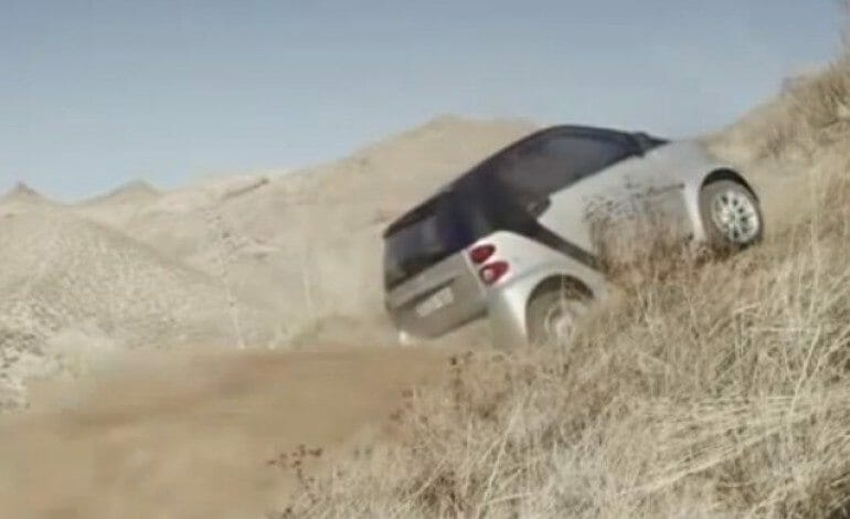 Smart's Offroad TV Spot, laughs in the face of big offroad SUV's…… But does it make you want one ?