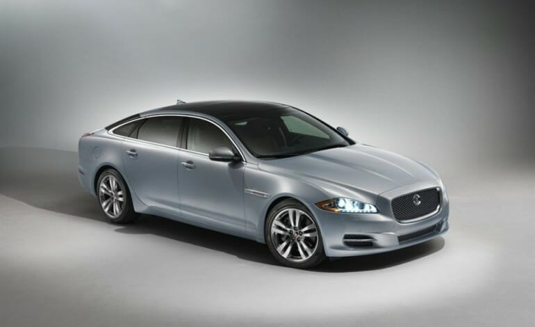 The 2014 Jaguar XJ