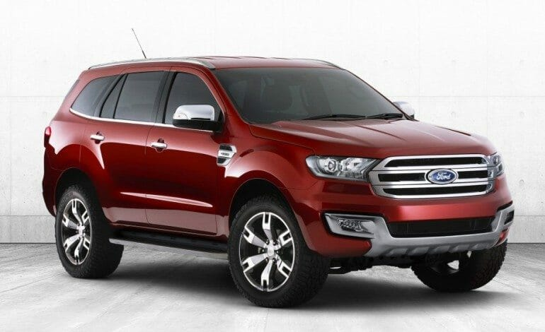 2015 Ford Everest concept reveal