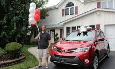 Toyota suprises 50 Millionth Customer
