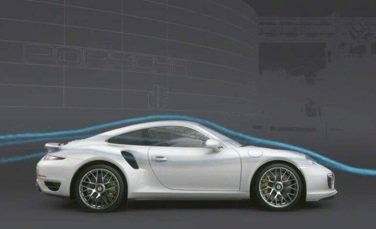 Porsche 911 Turbo Aerodynamics