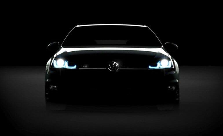 Volkswagen Leak Teaser of Golf R Mk7
