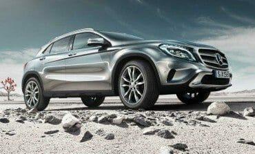 The new Mercedes GLA - Trailer