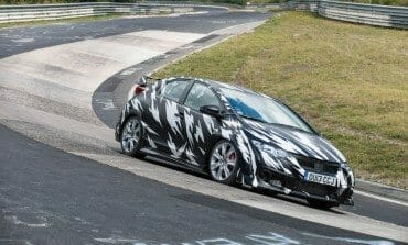 2015 Civic Type R at the Nürburgring