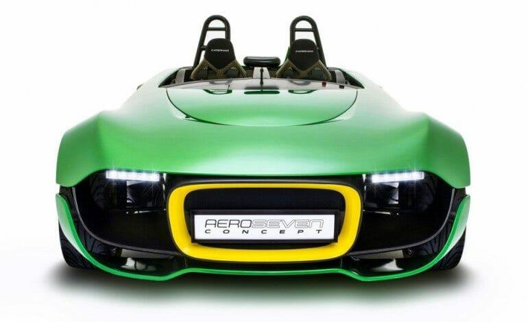 Caterham's Futuristic AeroSeven Concept