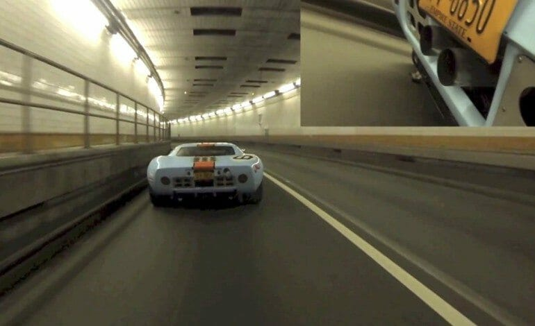 Ford GT40's Fire-Breathing Tunnel Run / Enjoy.