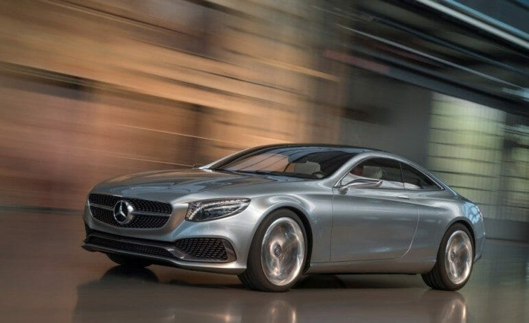 Mercedes-Benz Luxury S-Class Coupe Concept