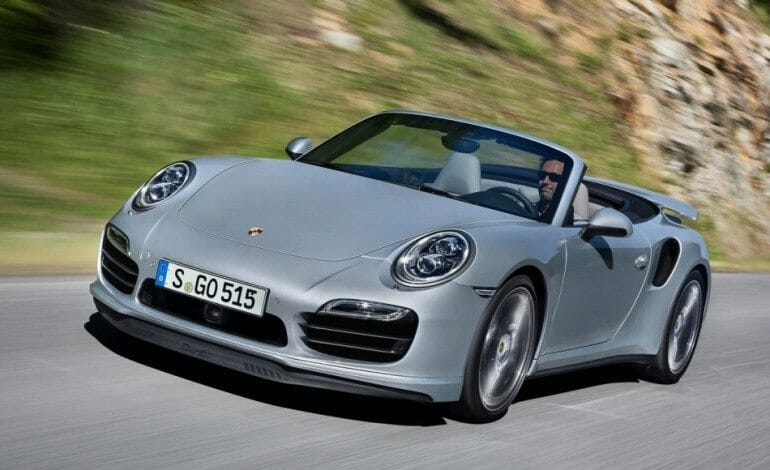 Porsche's New Turbo Cabriolet