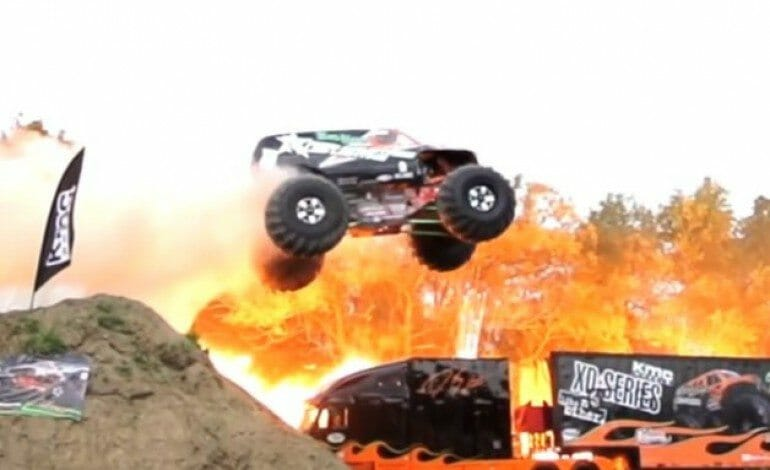 Bad Habit Monster Truck sets a new world record